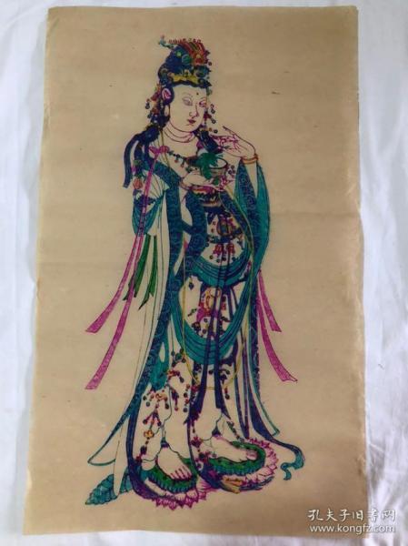 木版画  (71.5×44)cm