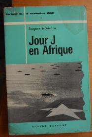 法文原版  二战题材《JOUR J EN AFRIQUE》火炬行动-登陆非洲之日