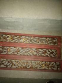 老木雕花板