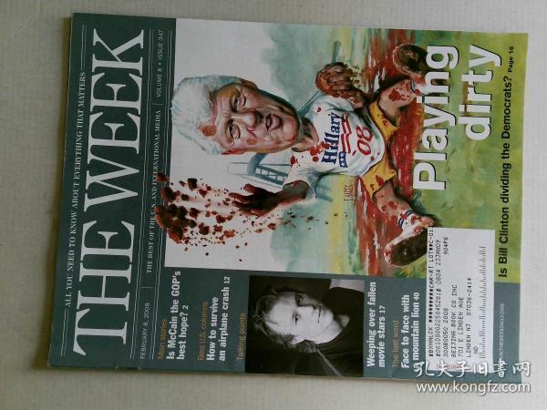 The Week 美国一周杂志 2008年2月8日 外文原版过期时事新闻