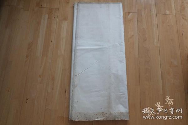 中国姑田7-80年代老宣纸138*80cm 64张书画用 N490