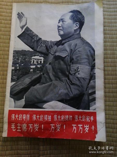 解放军画报1966.10,有多张林照