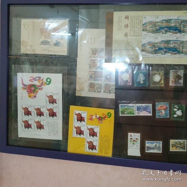 第三十届全国最佳邮票评选,整框邮票一起售