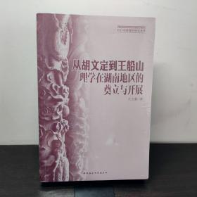 从胡文定到王船山(理学在湖南地区的奠立与开展)/长江中游儒学研究丛书