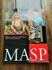 MASP 圣保罗美术馆藏品日本展  16-20世纪油画到装置 70件 16开全彩
