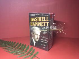 预售达希尔·哈米特小说合集美国图书馆版线装版Dashiell Hammett: The Library of America Edition : (two-Volume Boxed Set)