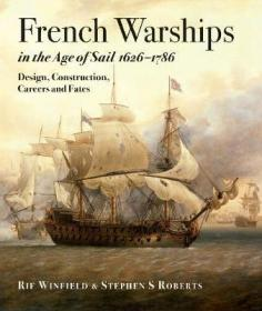 预订 French Warships in the Age of Sail 1626 - 1786,航海时代的法国战舰,英文原版