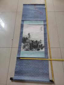 湖南省著名残疾人书画家陆业新先生山水画一幅