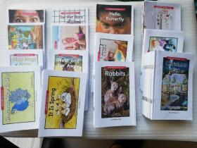 LEVELED BOOK系列   美国经典少儿英语分级读物AA-C属于幼儿版  (AA系列83本+A系列68本+B系列71本+C系列75本)+BENCHMARK系列3本   共300本合售