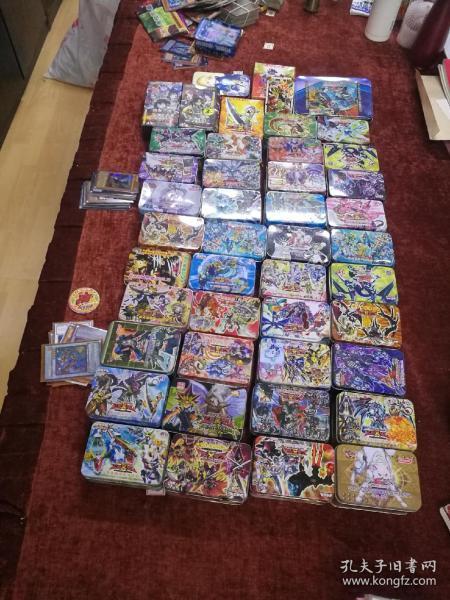 40盒+4000张无包装游戏王卡觅知音