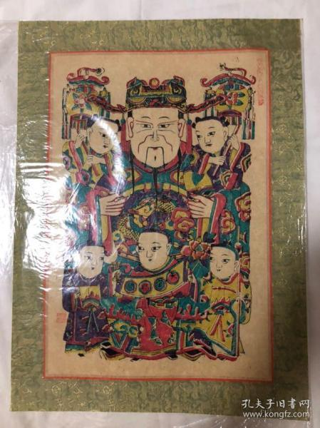 木版年画 门神(36×49)cm