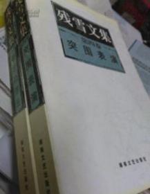 残雪代表作品 残雪文集 全4册:苍老的浮云、痕、开凿、突围表演 现货