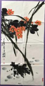 陈葆棣花卉图