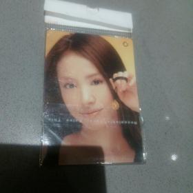 明星女变换卡闪卡迷你版Y2