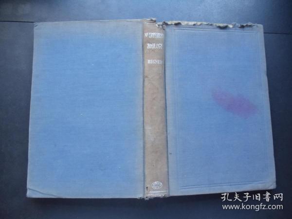 1933年-无脊椎动物学-外文版-多图