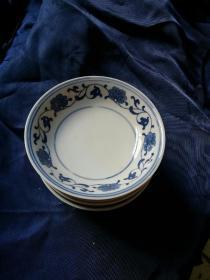 人民瓷厂小碟和小勺(碟7)