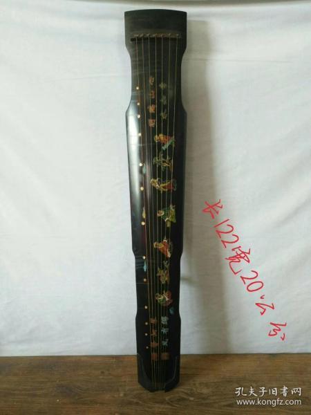 桐木七弦琴,保存完好品相一流,正常使用