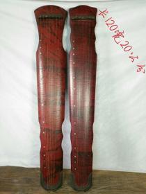 桐木七弦琴两把,保存完好品相一流,摆设及使用佳品