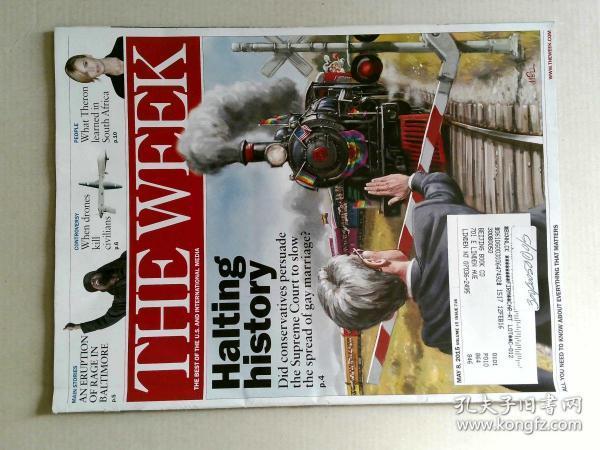 The Week 美国一周杂志 2015年5月8日 外文原版过期时事新闻