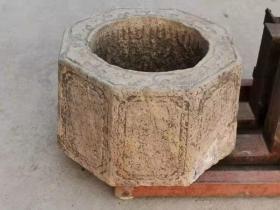 老青石井口,尺寸如图,包老