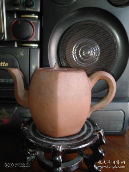 文革时期小六方紫砂壶