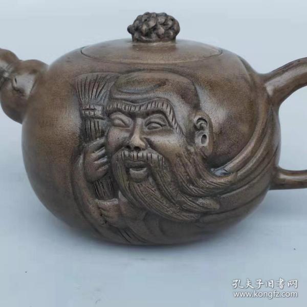 名人紫砂壶一把,全品,收藏使用最佳,可正常使用!