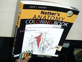 Netter's Anatomy Coloring Book Back Muscles 3  内特的解剖着色书背部肌肉3