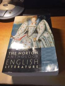 THE NORTON ANTHOLOGY ENGLISH LITERATURE VOLUME 1( 诺顿英国文学)英文原版