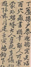 清朝信札--------------字体像字帖<<..-----(清朝书店迎客光临信札)------>>纸一张。清朝旧名人原底稿。品如图·