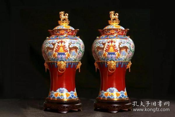 景泰蓝十二生肖财尊 收藏市场
