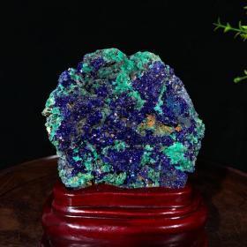 澳大利亚蓝铜矿 天然原矿