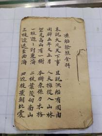 手抄道教书  造船祭煞金科(24面)