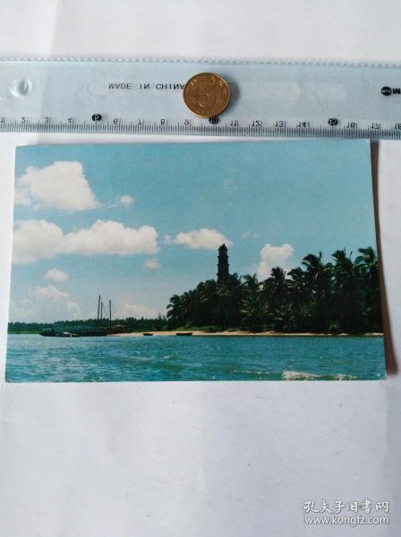 清澜港文笔塔    50件商品收取一次运费。如图。大小品自定。