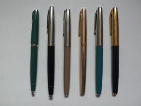 老永生钢笔 6 支合售