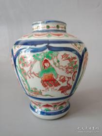 乡下收的老瓷罐