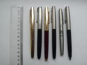 旧英雄钢笔 7 支合售