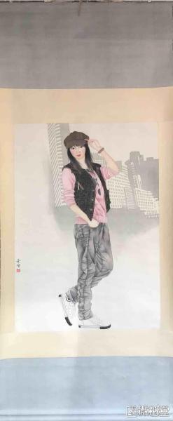崔景哲       纯手绘          国画         (卖家包邮)工艺品