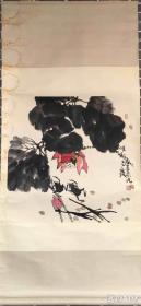 郭志光       纯手绘          国画         (卖家包邮)工艺品