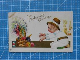 美西海邮---百年美国欧洲贴邮票实寄明信片-收藏集邮-复古手账-外国邮政彩色明信片