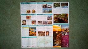 旧地图-新加坡滨海湾地图英文版(2010年5月-7月)2开85品