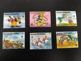 迪士尼 卡通邮票