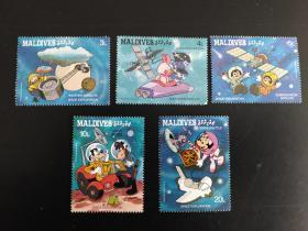迪士尼 卡通邮票 15