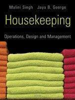 Housekeeping: Operations, Design and Management
