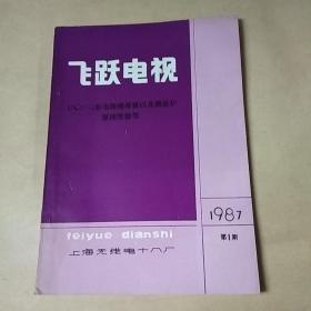 飞跃电视47C2-2彩电原理维修以及微波炉原理维修等  1987-01
