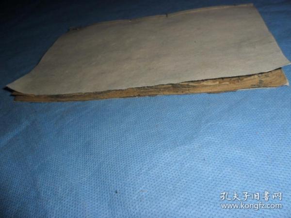 清代木刻板,佛教宝卷唱本《莲台词,莲花词》,一册全