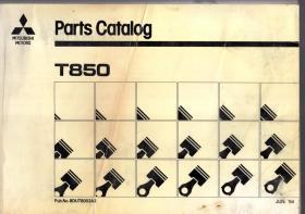 MITSUBISHI MOTORS Parts Catalog T850