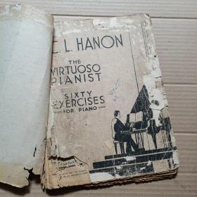 C.L.HANON  钢琴手指练习