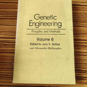 Genetic Engineering principles and Methods Volume 6