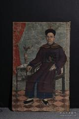 清代油画,刘公贤王