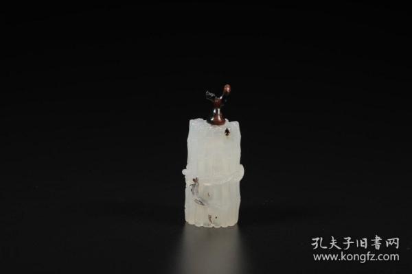旧藏,玛瑙节节高升鼻烟壶